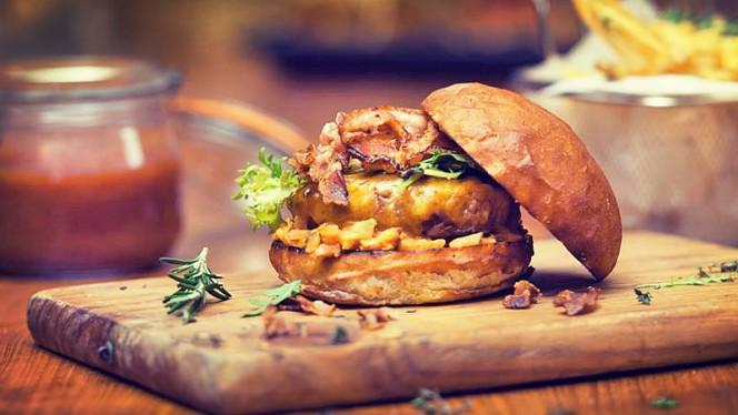 sugerencia hamburguesa - Nice People, Bread & Burger, Barcelona