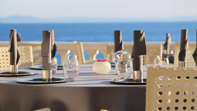Terraza - els Brancs - Hotel Vistabella, Roses