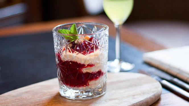 Dessert met limoncello - ´t Koetshuys restaurant & bar Groningen, Groningen