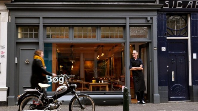 Restaurantzaal - Restaurant Bøg, Den Haag