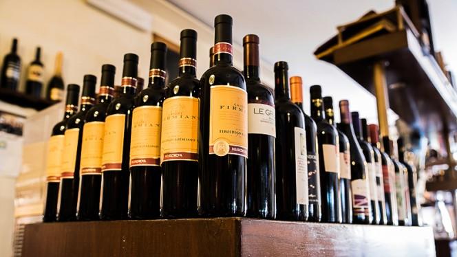 I vini - Antica Trattoria del Pontelungo, Bologna