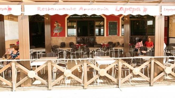 Vista terraza - La Pepa Arroz y Bar, Cádiz