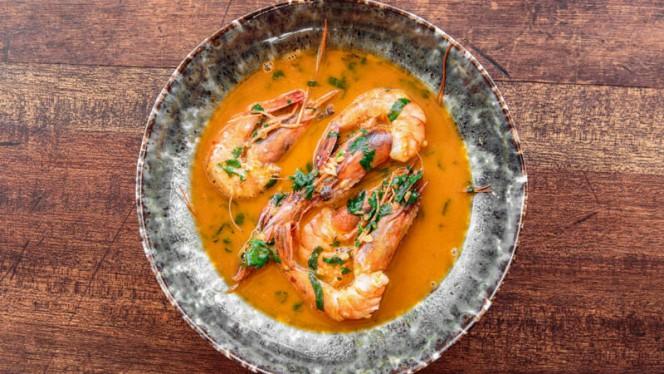Sautéed prawns - The Decadente Restaurante & Bar, Lisboa