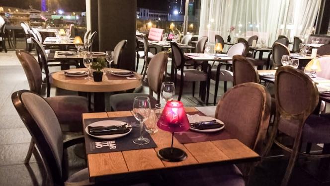 Vista mesas - Barítimo, Barcelona