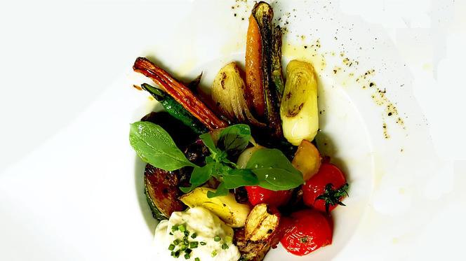 salada de legumes - Duetos da Sé, Lisboa