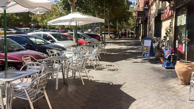 Terraza - La Fuente, Madrid