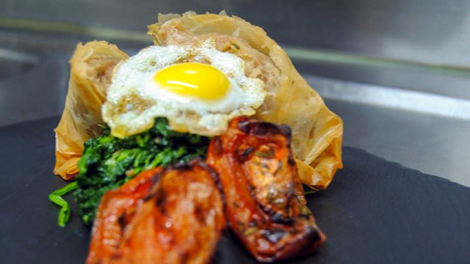 Sugestão prato - SIZE /  Marques Soares, Porto