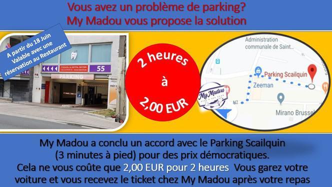 parking - My Madou fish & Seafood,