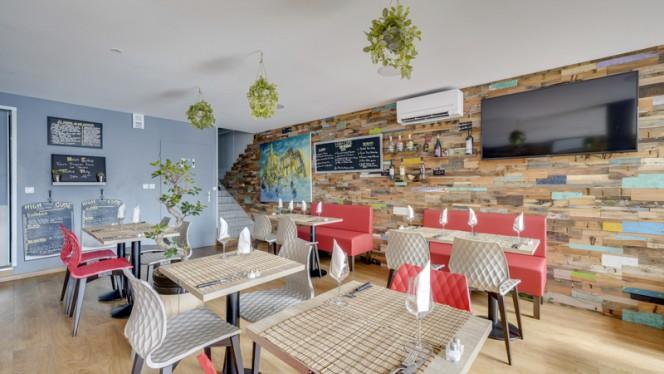 Salle du restaurant - High Cube, Marsiglia