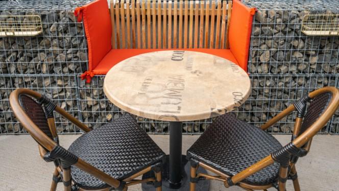 Table dressée - High Cube, Marsiglia