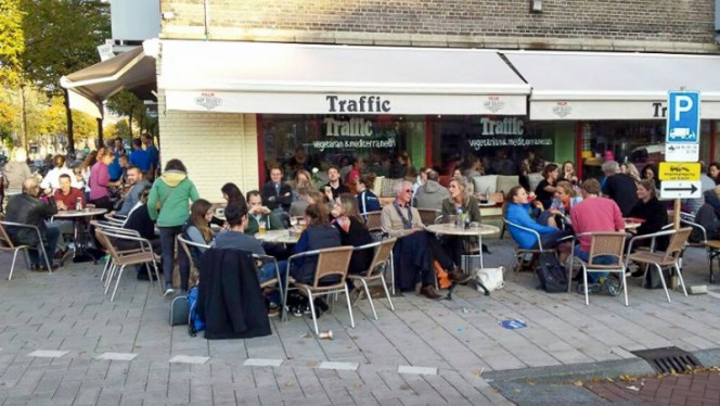 Terras - Traffic, Amsterdam