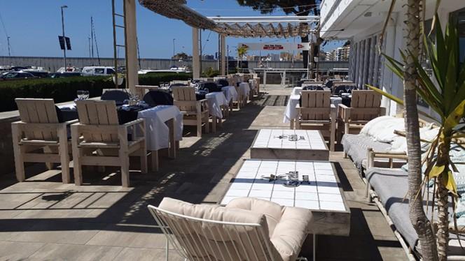 Terraza - Restaurant & Lounge Club Vela Blanes, Blanes