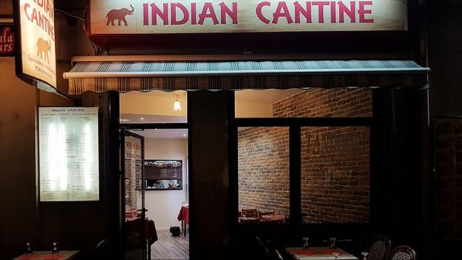 Vue extérieure - Indian Cantine, Lyon