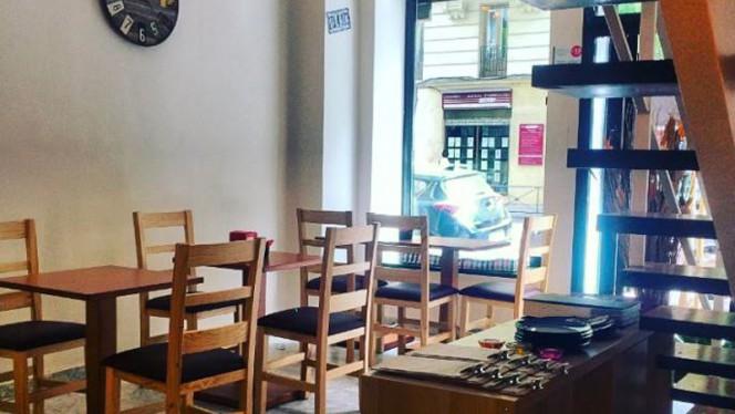 Sala del restaurante - Pepe Nero, Madrid