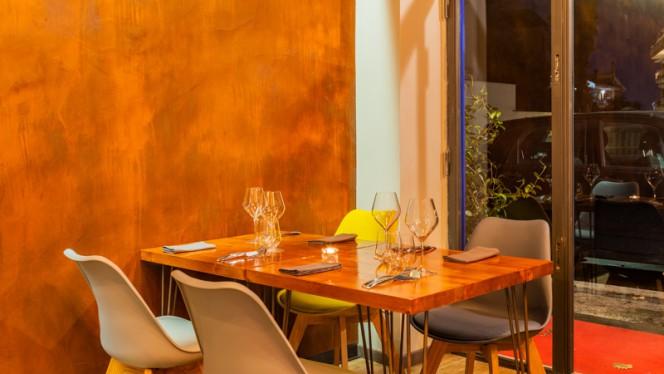 Vista della sala - Moi cucina dinamica, Rome