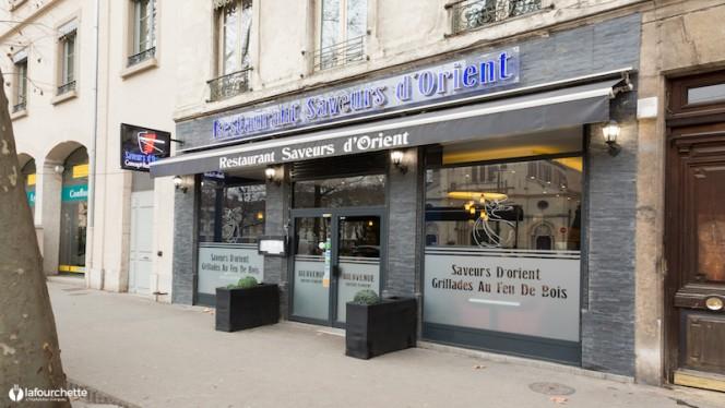 Devanture - Saveur d'Orient, Lyon