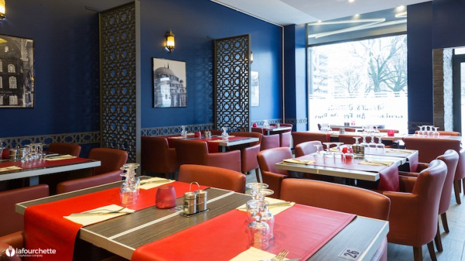 Salle du restaurant - Saveur d'Orient, Lyon