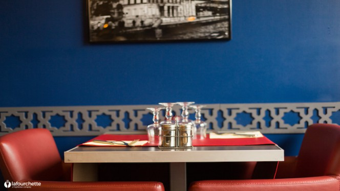 Table dressée - Saveur d'Orient, Lyon