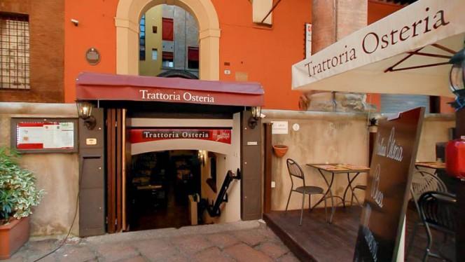 Entrata - Buca Manzoni, Bologna