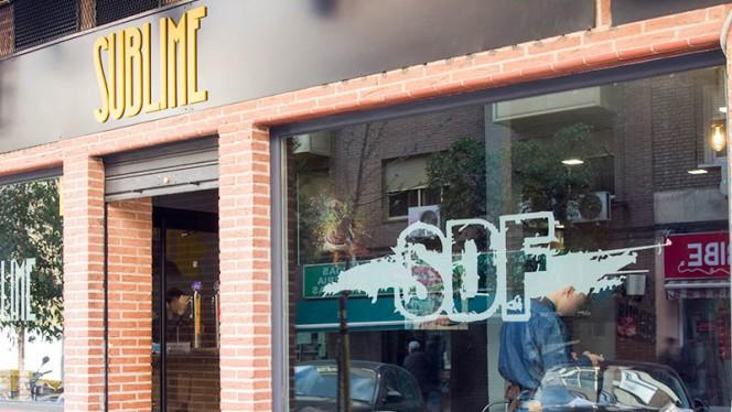Fachada - Sublime Dreams Food - Hernani, Madrid