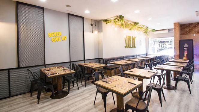 Vista de la sala - Sublime Dreams Food - Hernani, Madrid