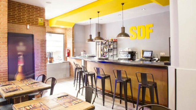 Vista del interior - Sublime Dreams Food - Hernani, Madrid