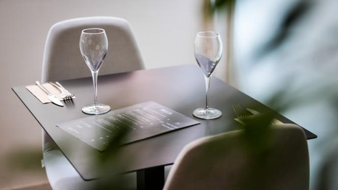 Table dressée - Pré de Chez Nous, Brussels