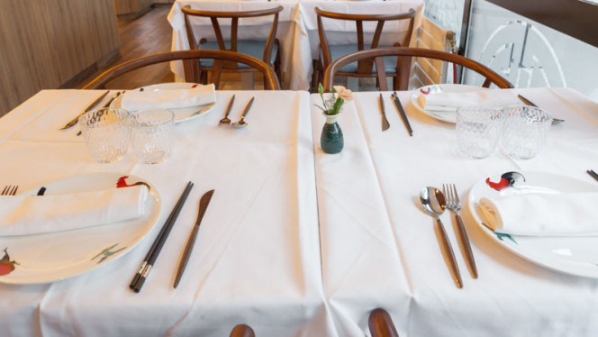 Detail de le table - New China, Lyon