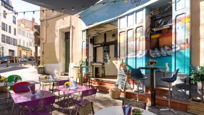 Terrasse - Chez Vallès, Marseille