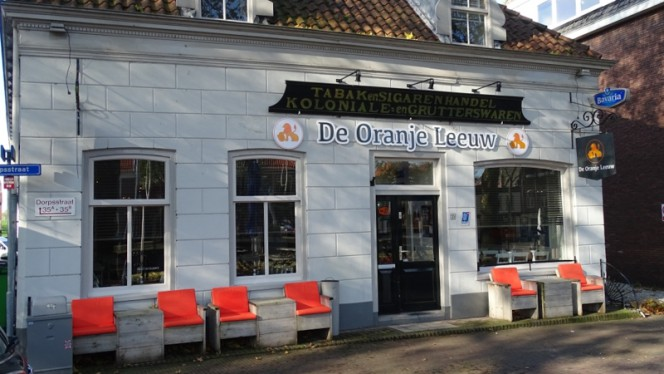 De Oranje Leeuw in Nieuwegein - Menu, openingstijden