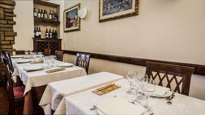particolare sala - Osteria Nuovo Convento, Milan