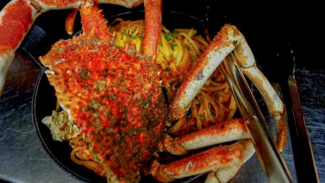 Pates à l'araignée - A CANTINA Brasserie Corse - Quartier des Grands Hommes, Bordeaux
