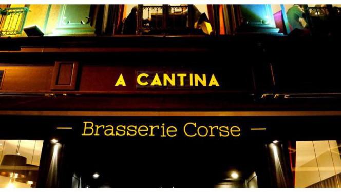 Devanture - A CANTINA Brasserie Corse - Quartier des Grands Hommes, Bordeaux