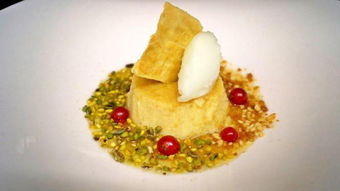 Pastizzu au caramel d'agrumes - A CANTINA Brasserie Corse - Quartier des Grands Hommes, Bordeaux
