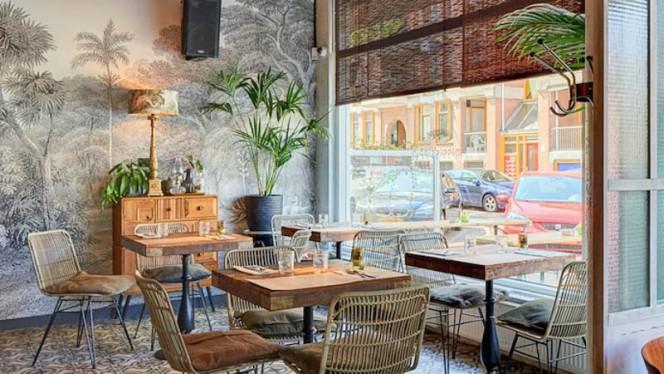 Het restaurant - Mississippi Bar Kitchen, Amsterdam