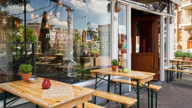 Ingang - Mississippi Bar Kitchen, Amsterdam