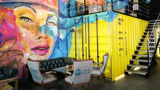 Vista de la sala - Madness Coffe, Barcelona