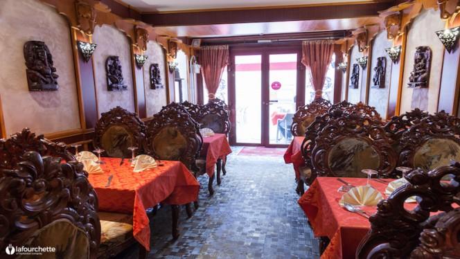 L'intérieur du restaurant - Royal Indien, Lyon