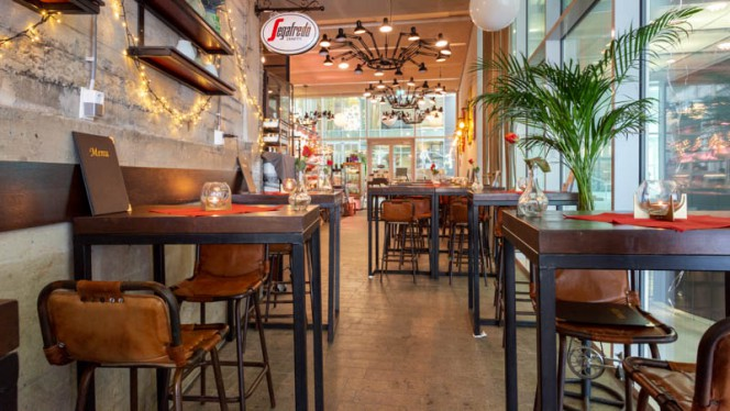 Vue de la salle - Brasserie Timmerhuis, Rotterdam