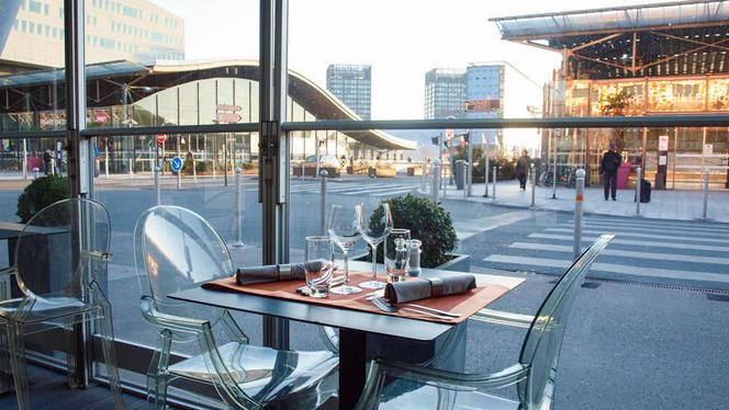 terrasse vue 1 - Crowne Plaza Euralille, Lille
