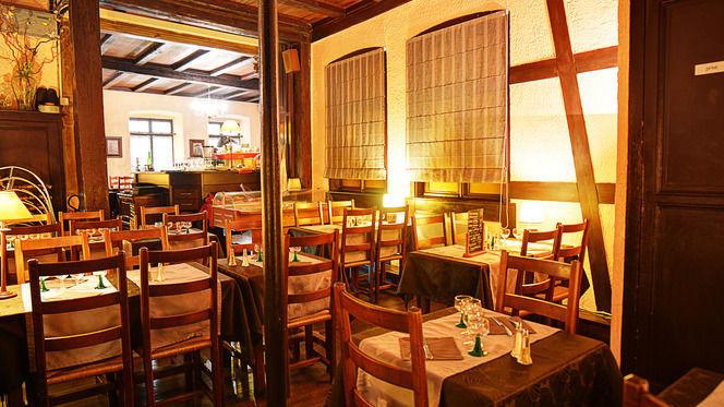 Salle du restaurant - Au Sanglier, Strasbourg