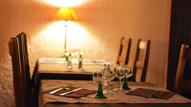 Table dressée - Au Sanglier, Strasbourg