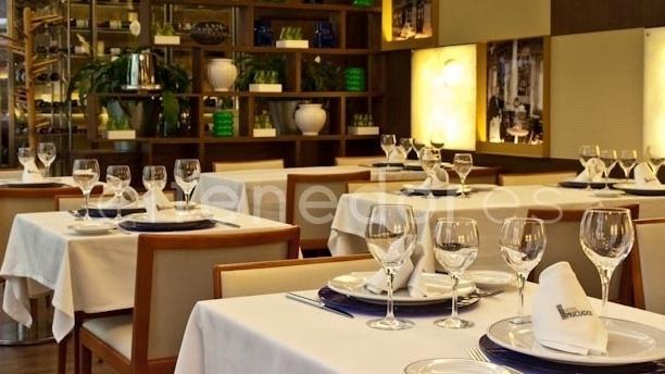 Detalle de mesa - Café Varela - Hotel Preciados, Madrid