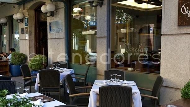 Vista de la terraza - Café Varela - Hotel Preciados, Madrid