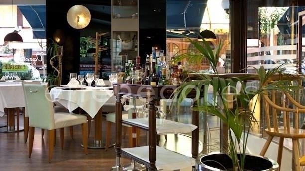 Vista del interior - Café Varela - Hotel Preciados, Madrid