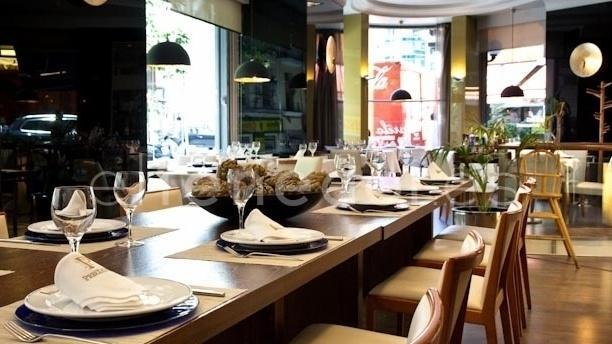 Vistas de mesa - Café Varela - Hotel Preciados, Madrid