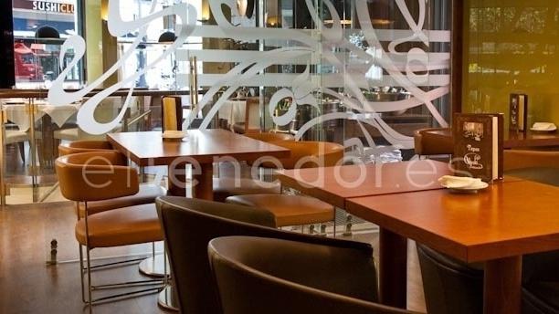 Detalle mesa - Café Varela - Hotel Preciados, Madrid