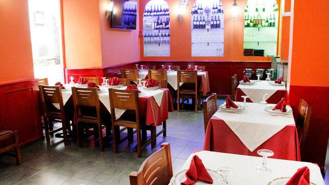 sala decoración - Indian Spice, Madrid