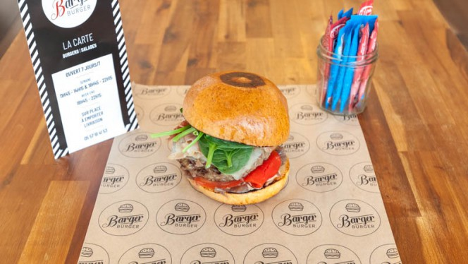 Suggestion du chef - Barger Burger, Bègles