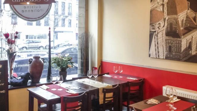 vue de la salle - O' Sole Mio, Liège